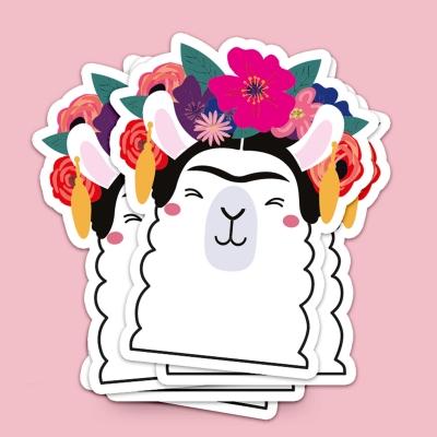 Sticker - Frida Khalo Llama XL